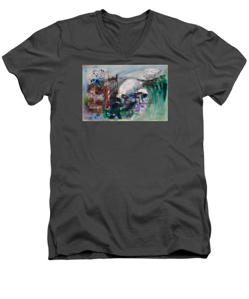 Travels Men's V-Neck T-Shirt