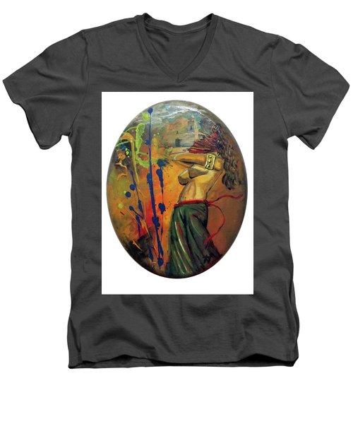 Trayectos Men's V-Neck T-Shirt
