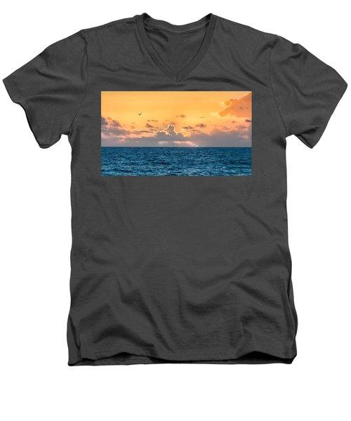 Treasure Coast Imaginations Men's V-Neck T-Shirt by Craig Szymanski