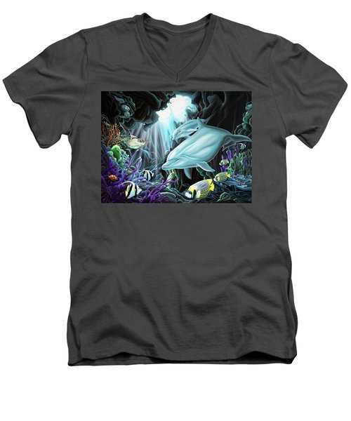 Treasure Hunter Men's V-Neck T-Shirt