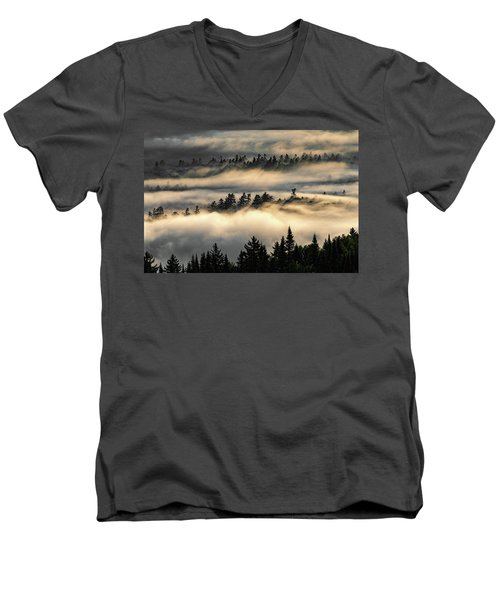 Trees In The Clouds Men's V-Neck T-Shirt