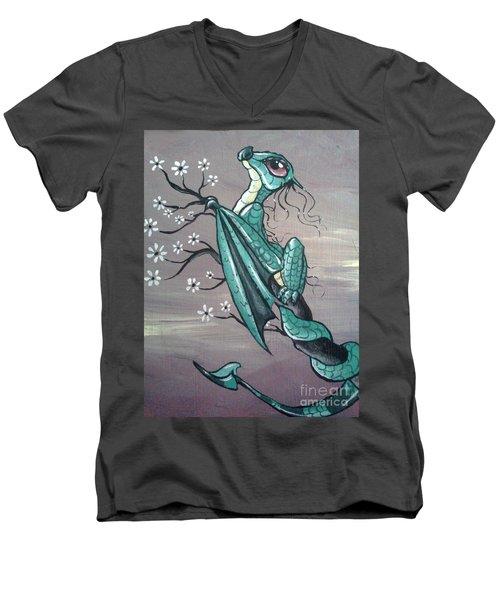 Tree Dragon II Men's V-Neck T-Shirt