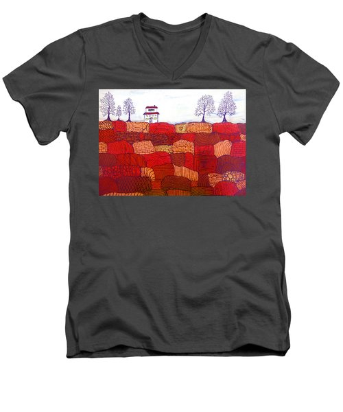 Tree Farm Men's V-Neck T-Shirt