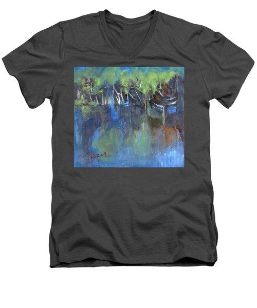 Tree Imagery Men's V-Neck T-Shirt