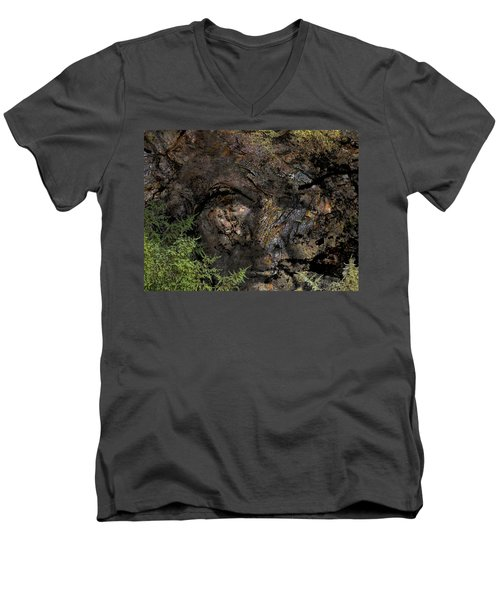 Men's V-Neck T-Shirt featuring the photograph Tree Memories # 27 by Ed Hall