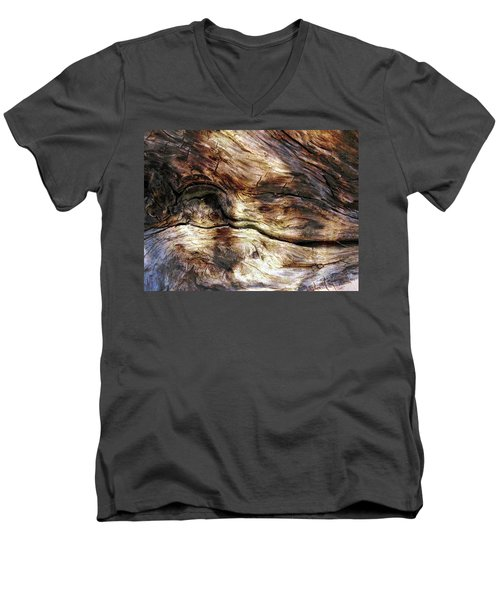 Men's V-Neck T-Shirt featuring the photograph Tree Memories # 30 by Ed Hall