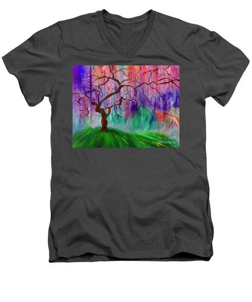 Tree Of Life 11 Men's V-Neck T-Shirt