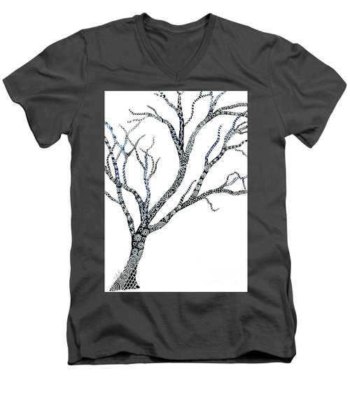 Tree Of Strength Men's V-Neck T-Shirt