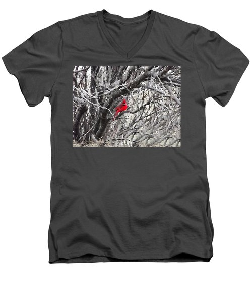 Tree Ornament Men's V-Neck T-Shirt