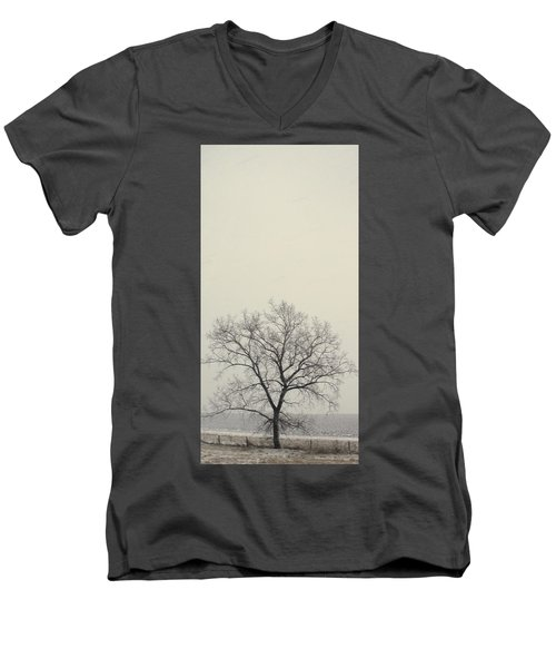 Men's V-Neck T-Shirt featuring the photograph Tree#1 by Susan Crossman Buscho