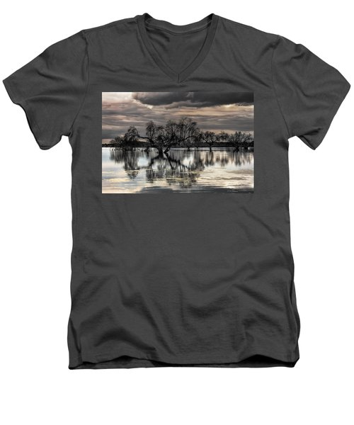 Trees Dream Men's V-Neck T-Shirt