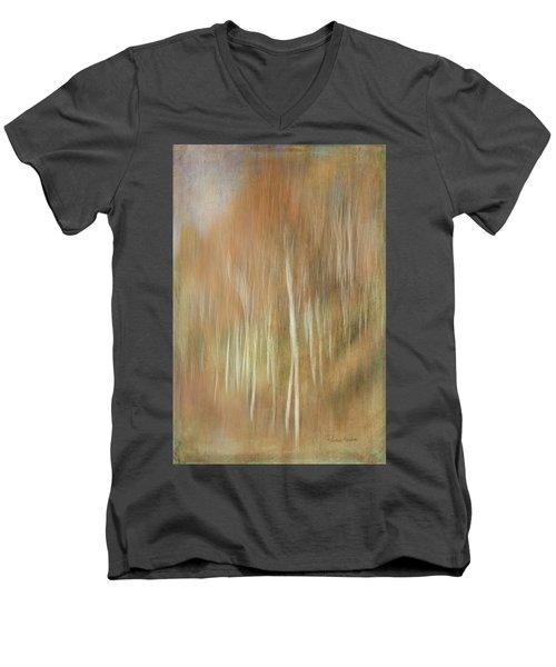 Trees Ethereal Men's V-Neck T-Shirt