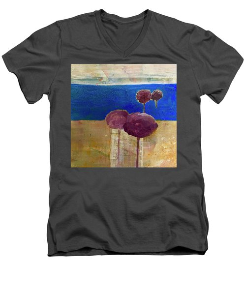 Treescape Men's V-Neck T-Shirt