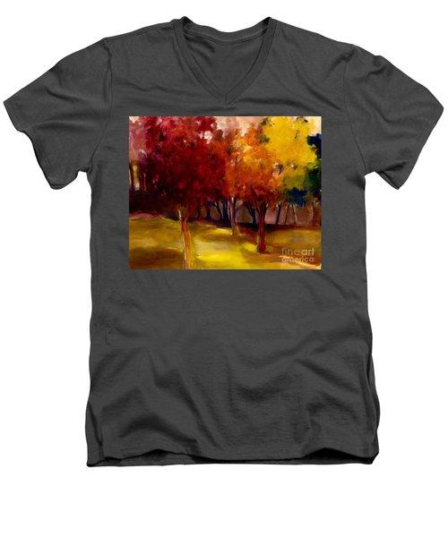 Treescape Men's V-Neck T-Shirt