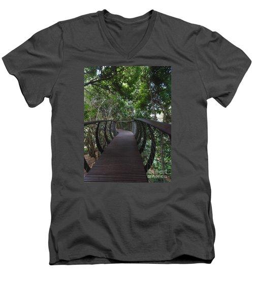 Treetop Canopy Walk Men's V-Neck T-Shirt