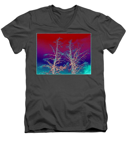 Treetops 4 Men's V-Neck T-Shirt