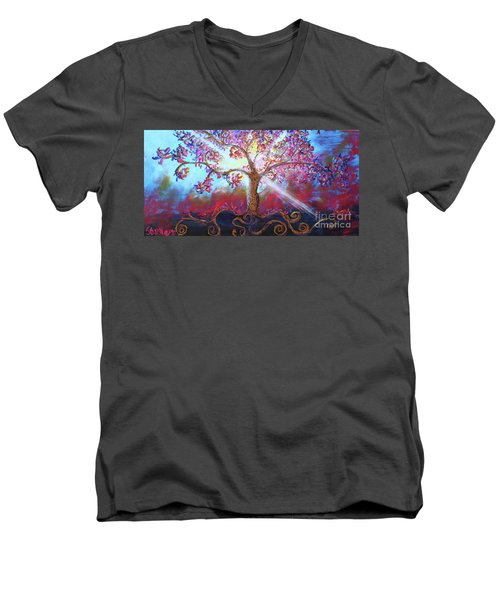 Treevelation Men's V-Neck T-Shirt