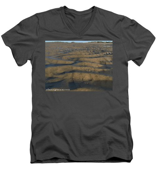 Trekking Alien Terrain Men's V-Neck T-Shirt