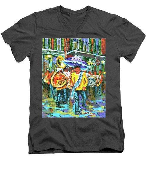 Treme Brass Band Men's V-Neck T-Shirt