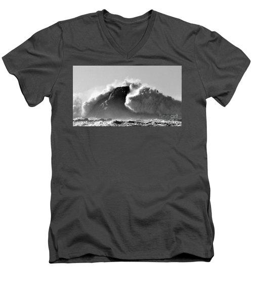 Tremendous Men's V-Neck T-Shirt by Sheila Ping