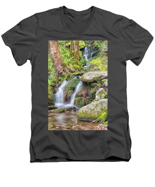 Tremont Road Waterfall Men's V-Neck T-Shirt