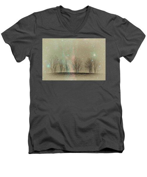 Tress In Starlight Men's V-Neck T-Shirt
