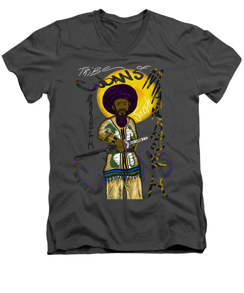 Tribe Of Manasseh Men's V-Neck T-Shirt