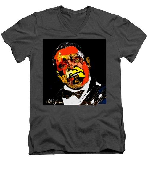tribute to BB King reworked Men's V-Neck T-Shirt