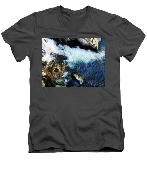 Tribute Trail Newtown Ditch Men's V-Neck T-Shirt