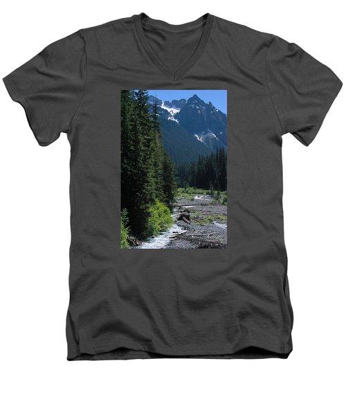 Trickling Men's V-Neck T-Shirt
