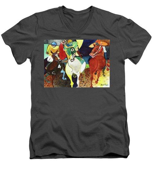 Trifecta Men's V-Neck T-Shirt