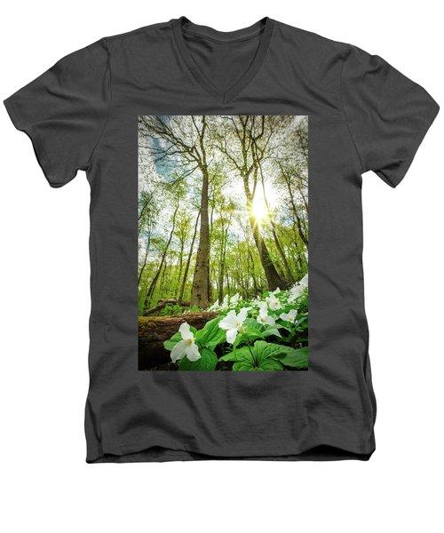 Trillium  Men's V-Neck T-Shirt