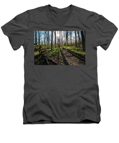 Trillium Trail Men's V-Neck T-Shirt
