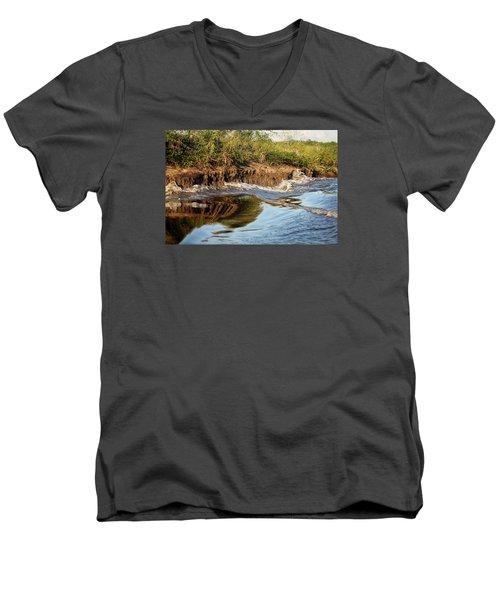 Trinidad Water Reflection Men's V-Neck T-Shirt