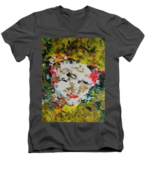 Trinity Panel Three Men's V-Neck T-Shirt
