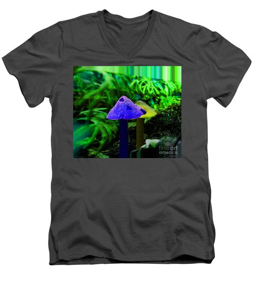 Trippy Shroom Men's V-Neck T-Shirt
