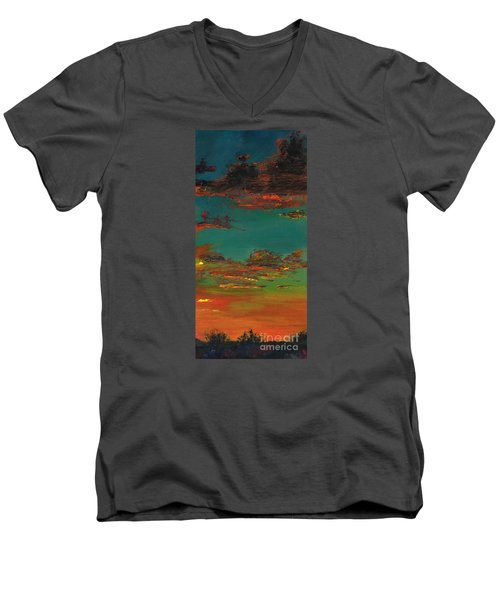 Triptych 3 Men's V-Neck T-Shirt