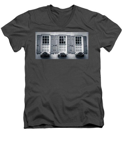 Triune Pondering Spot Men's V-Neck T-Shirt