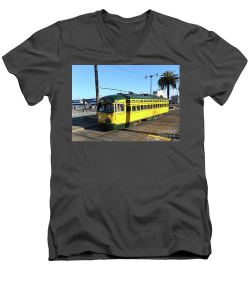 Trolley Number 1071 Men's V-Neck T-Shirt