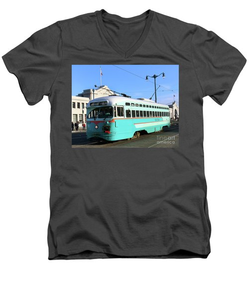 Trolley Number 1076 Men's V-Neck T-Shirt