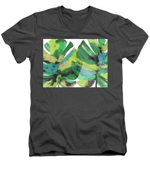 Tropical Dreams 1- Art By Linda Woods Men's V-Neck T-Shirt