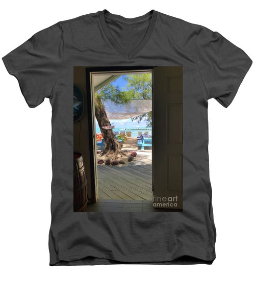 Tropical Entrance Men's V-Neck T-Shirt