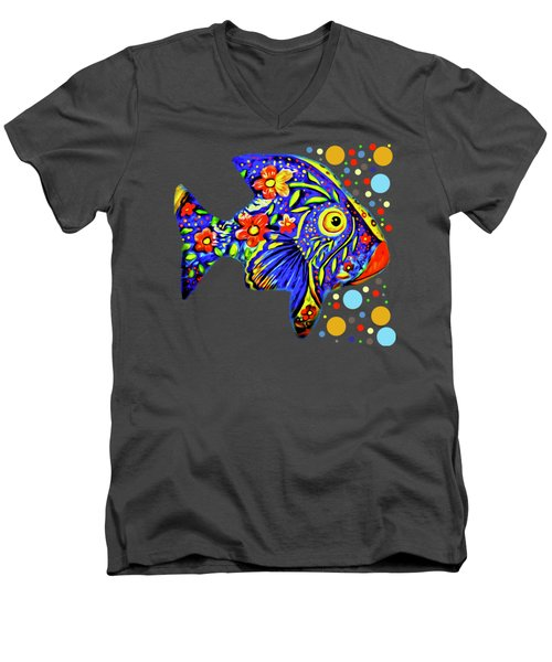 Tropical Fish Men's V-Neck T-Shirt