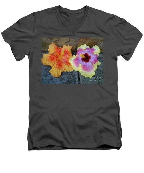 Tropical Pair Men's V-Neck T-Shirt