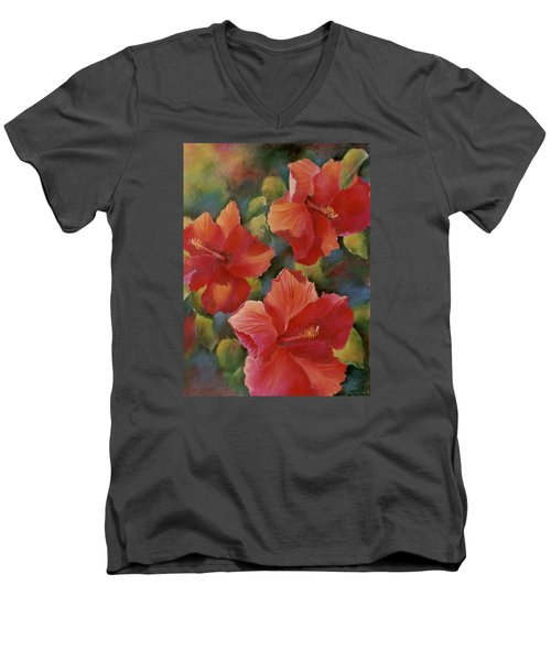Tropical Punch Men's V-Neck T-Shirt