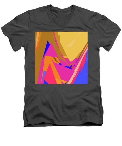 Tropical Ravine Men's V-Neck T-Shirt