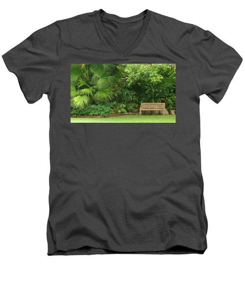 Tropical Seat Men's V-Neck T-Shirt