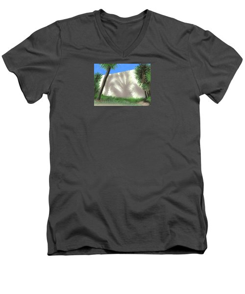 Tropical Shadows Men's V-Neck T-Shirt