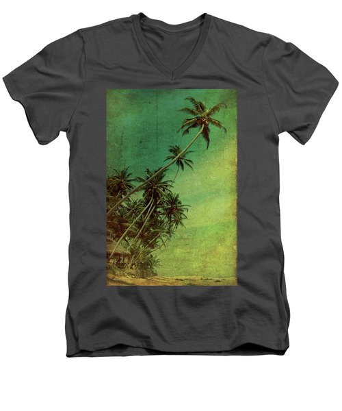 Tropical Vestige Men's V-Neck T-Shirt
