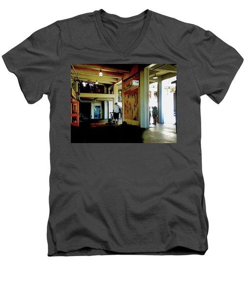 Troubadour Men's V-Neck T-Shirt